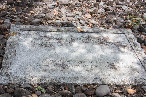 Charles Lindbergh's grave, Maui