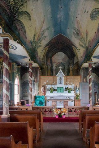 St Benedict's Painted Church, Big Island