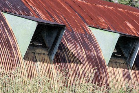Neglected huts, Mauna Kea, Big Island