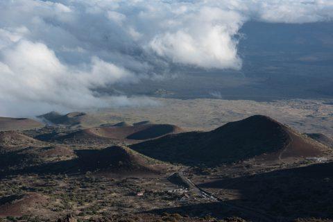 View from road up Mauna Kea, Big Island