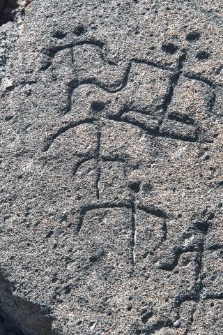 Petroglyph, Pauko, Big Island
