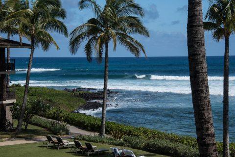 Hotel beach, Kauai
