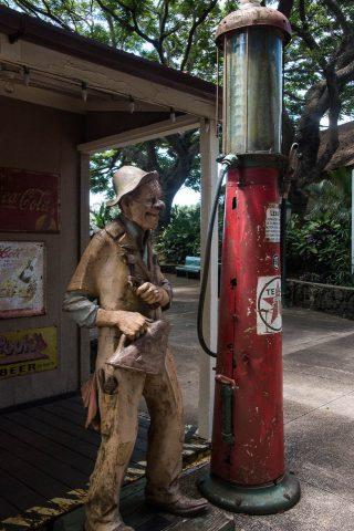 Petrol station, Koloa, Kauai