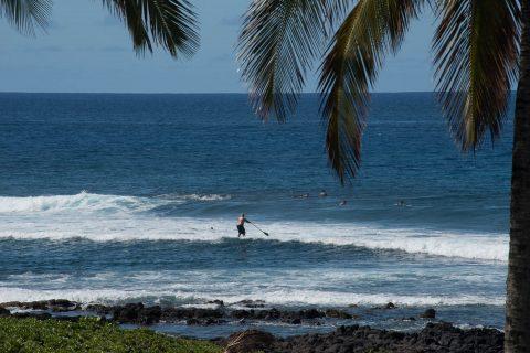 Paddle boarding, Kauai