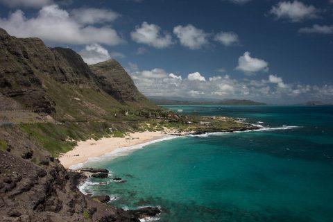 View from Makapu'u Point, Oahu