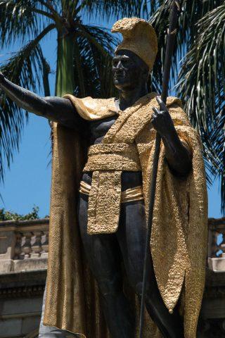 Kamehameha Statue, Honolulu, Oahu