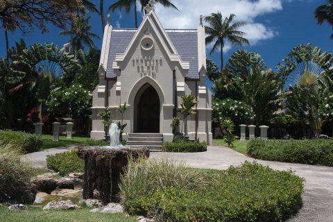 Tomb of King Lunalilo, Honolulu, Oahu