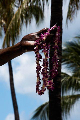 Duke Kahanamuku statue, Waikiki, Honolulu, Oahu