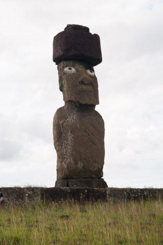 Ahu Ko Te Riku, Easter Island
