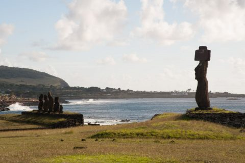Tahai Archeological Complex, Easter Island