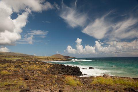 North coast, Easter Island
