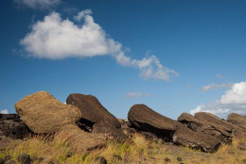 Ahu Hanga Tee, Easter Island