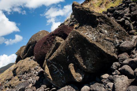 Ahu Akahanga, Easter Island