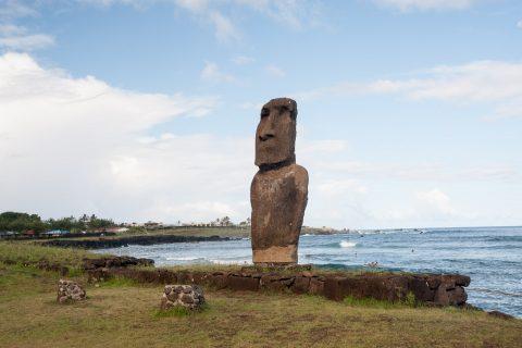 Ahu Tautira, Hanga Roa, Easter Island