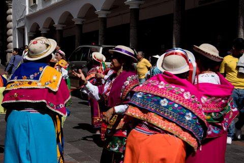 Christmas Dancers, Quito
