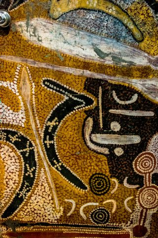 Aboriginal artefact, South Australian Museum, Adelaide