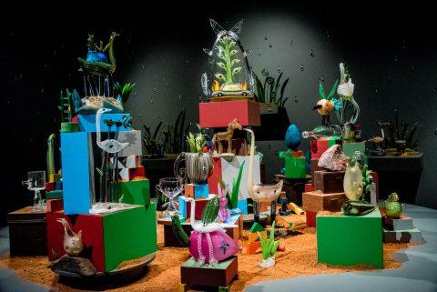 Tom Moore glass, Art Gallery of South Australia, Adelaide