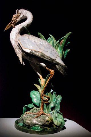 Minton heron, Warrnambool Art Gallery