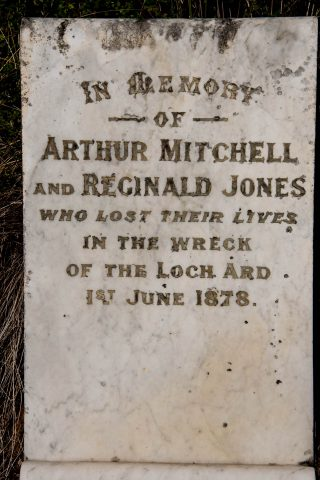 Loch Ard Gorge cemetery. Great Ocean Road