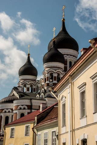 Aleksander Nevsky Cathedral, Tallinn (rear view)