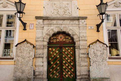 House of the Blackheads (detail), Tallinn