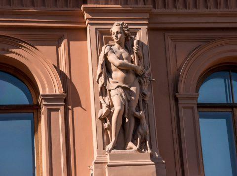 Stock Exchange (detail), Riga