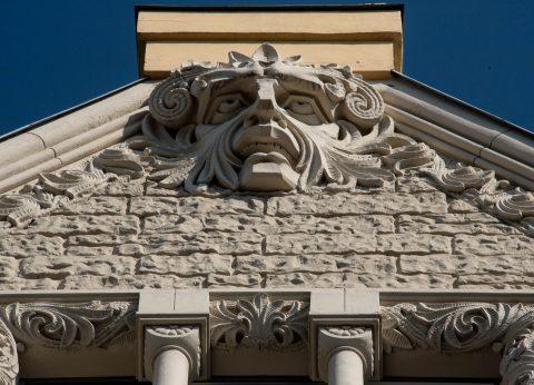 Hotel Neiburgs (detail) Riga