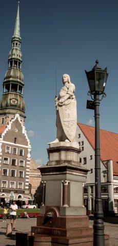 Statue of Roland, Town Hall Square, Riga