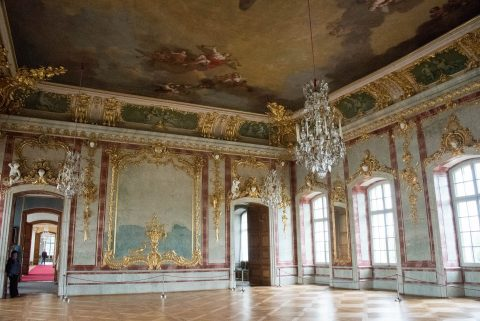 Gilded Hall, Rundale Palace, Latvia
