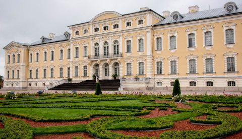 Garden facade, Rundale Palace, Latvia