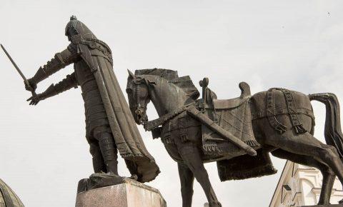Godiminas Statue, Vilnius, Lithunia