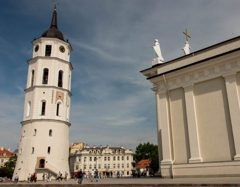 Belfry, Cathedral, Vilnius, Lithunia