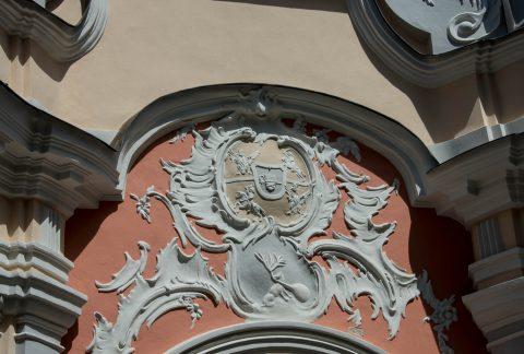 Dominican Church arms, Vilnius