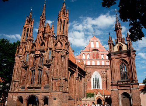 St Anne's Church & Benrnardine Church, Vilnius