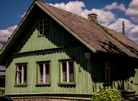 Karaim house, near Vilnius