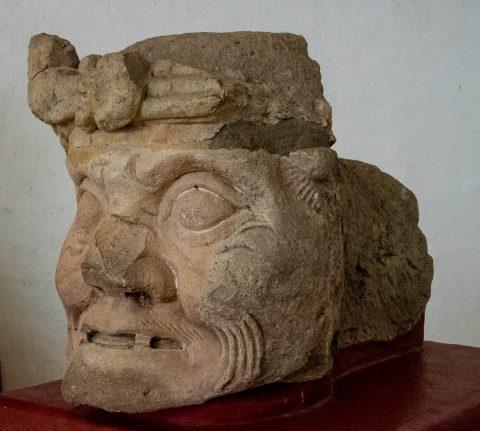 God Pauahtun, Copan (original in museum)
