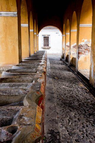 Communal washing house, Antigua