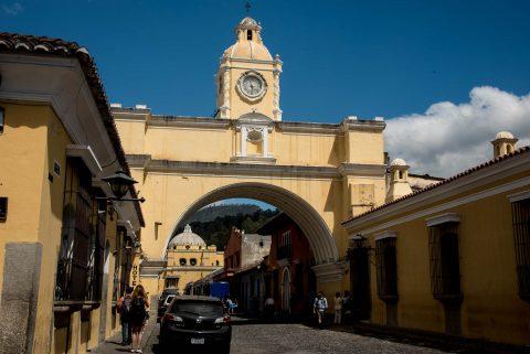 Santa Catalina's Arch, Antigua