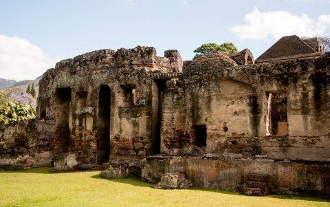 Rotunda, Las Capuchinas, Antigua