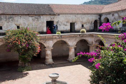 Courtyard, Las Capuchinas, Antigua