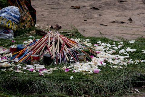 Mayan altar, Iximche