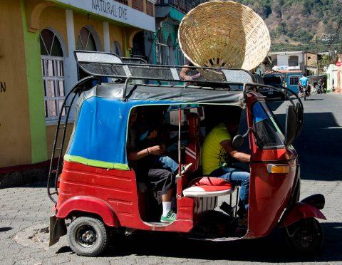 Local Taxi, San Juan La Laguna