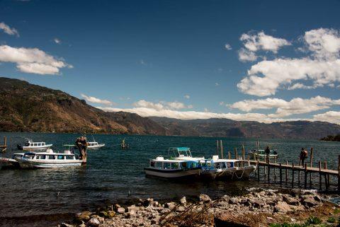 Jetty, San Juan La Laguna, Lake Atitlan