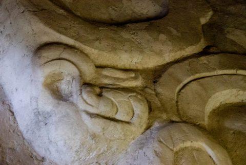 Serpent, Stelea, Yaxha