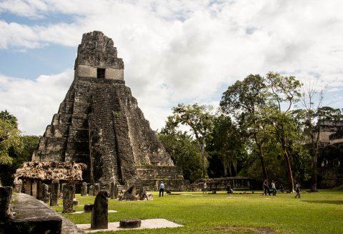 Temple I, Grand Plaza, Tikal
