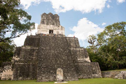 Temple II, Grand Plaza, Tikal