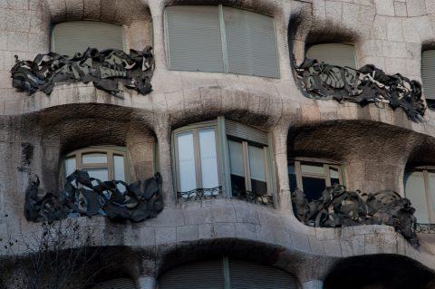 Casa Mila (known as La Pedrera), Barcelona