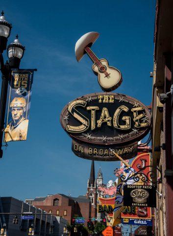 Honky-tonks, Broadway, Nashville, Tenn