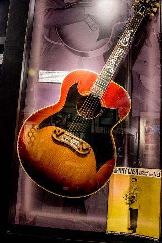 Custom Gibson J-200 guitar for Johnny Cash, Nashville
