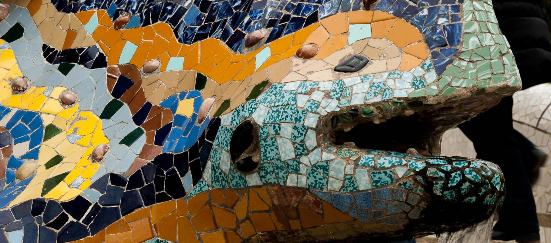 Dragon, Guell Park, Barcelona